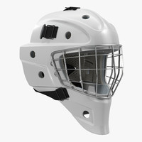3d model hockey goalie mask generic