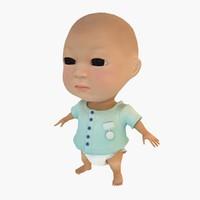 3d max kid child