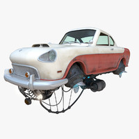 flying car 3D models