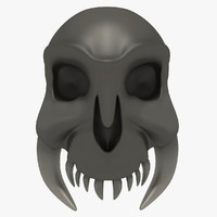 skull fantasy 3d model