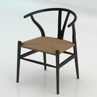 3d model of hans wegner ch24