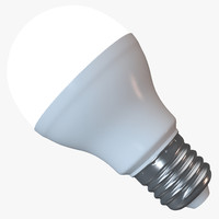 3d model lampe led illuminated