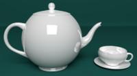 obj cup caffe tea