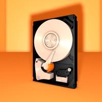 mechanical internal hard drive c4d