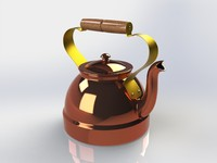 3d teapot tea pot model