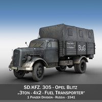 sd - opel blitz 3d 3ds