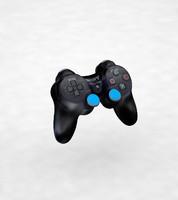ps3 controller 3 3d model