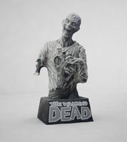 3d model zombie walking dead