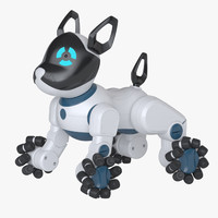 photoreal toy robot dog max