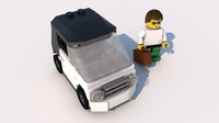 3ds lego car