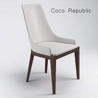 coco dining chair 3d max