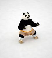 kung fu panda 3d max