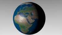 3d model earth 8k