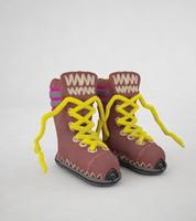 winter boots 3d max