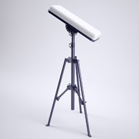 professional stand arm 3d model