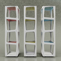 bookcase boconcept 3d model