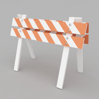 safety barrier 3d max