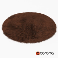 3d carpet fur model