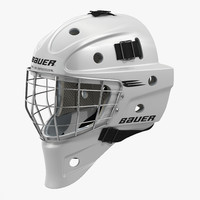 3d hockey goalie mask bauer