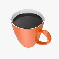 ceramic mug 3d obj