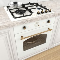 Cooktop Freggia with Pans
