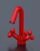 3d faucet mixer model