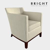 chair eno lounge 3d model