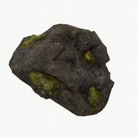 green ore 3d model