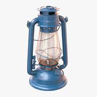 gas lamp 3d model