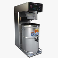 3d commercial iced tea brewer model