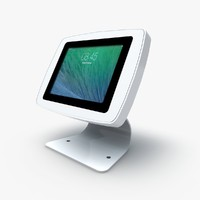 tablet enclosure kiosks 3d model