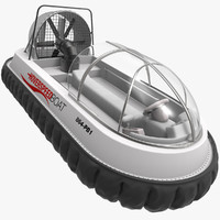 Speed Hovercraft Boat
