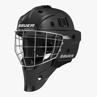 hockey goalie mask bauer 3d max