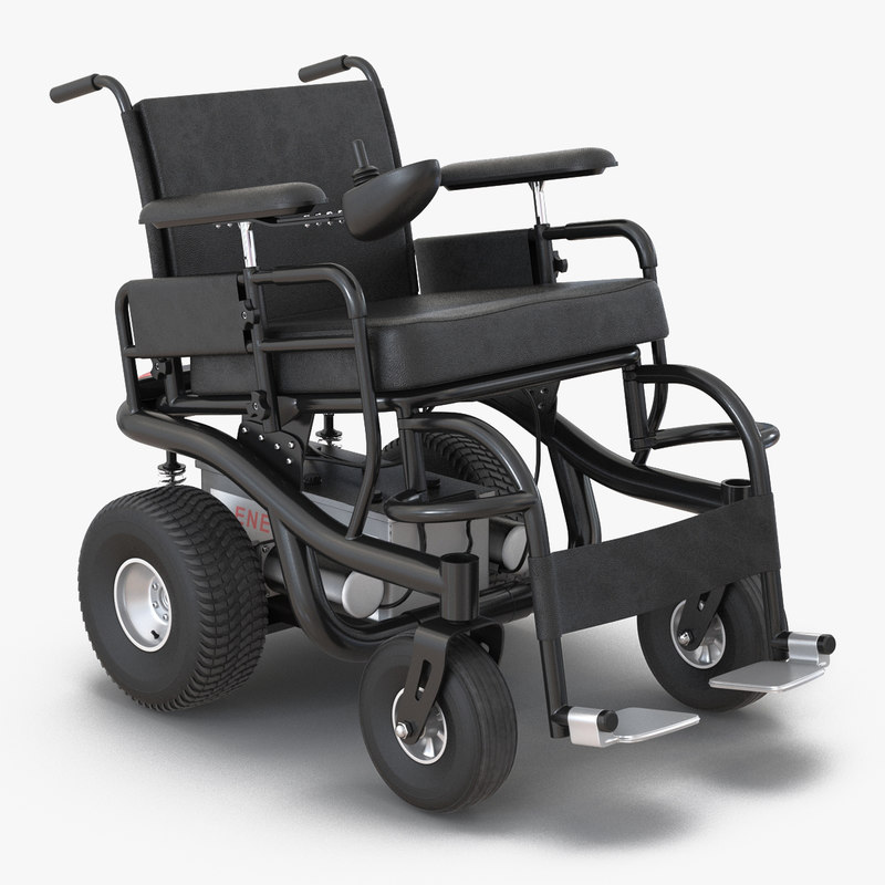 Powered Wheelchair 3d model 00.jpg