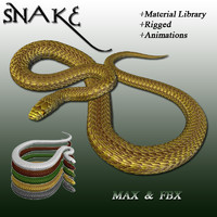 snake scales 3d max