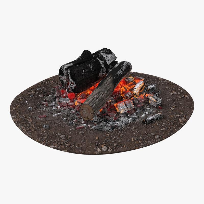 Campfire 3d model 00.jpg