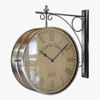 3d double clock model