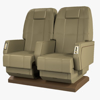 Private Airplane Chairs