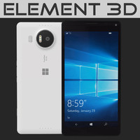 realistic element microsoft lumia 3d 3ds