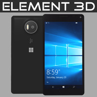 realistic element microsoft lumia 3ds