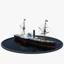 steamboat 3D models