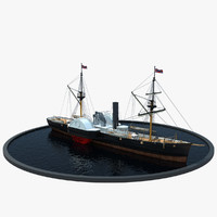 steamboat 3D models
