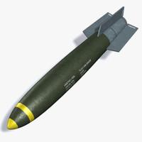 3d model mk-82 bomb