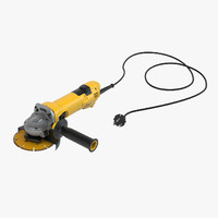 angle grinder 3d max