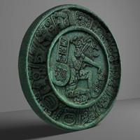 obj aztec symbol