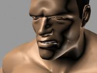 3d model arnold schwarzenegger