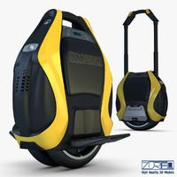inmotion v3 pro yellow 3d max