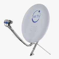 obj home satellite dish
