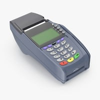 3d credit card machine