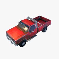 old car 3 3d max